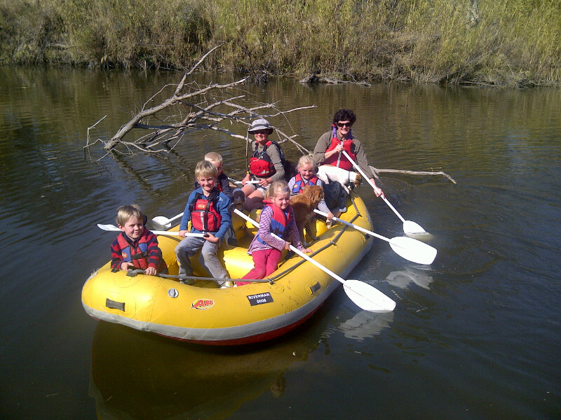 Kids floatalong